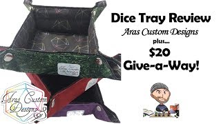 $20 Give-a-Way and Dice Tray Review - Aras Custom Designs