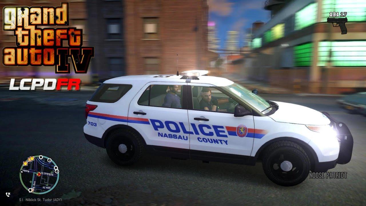 gta iv lcpdfr 1 0d episode 4 nassau county police patrol youtube. Black Bedroom Furniture Sets. Home Design Ideas