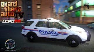 GTA IV - LCPDFR - 1.0D - EPiSODE 4 - NASSAU COUNTY POLICE PATROL