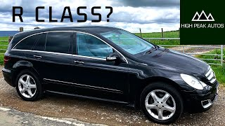 Should You Buy a MERCEDES R CLASS? (R320CDI Test Drive & Review)