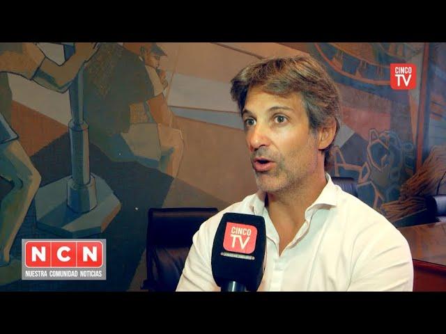 CINCO TV - Segundo Cernadas presentó la renovada web del HCD Tigre