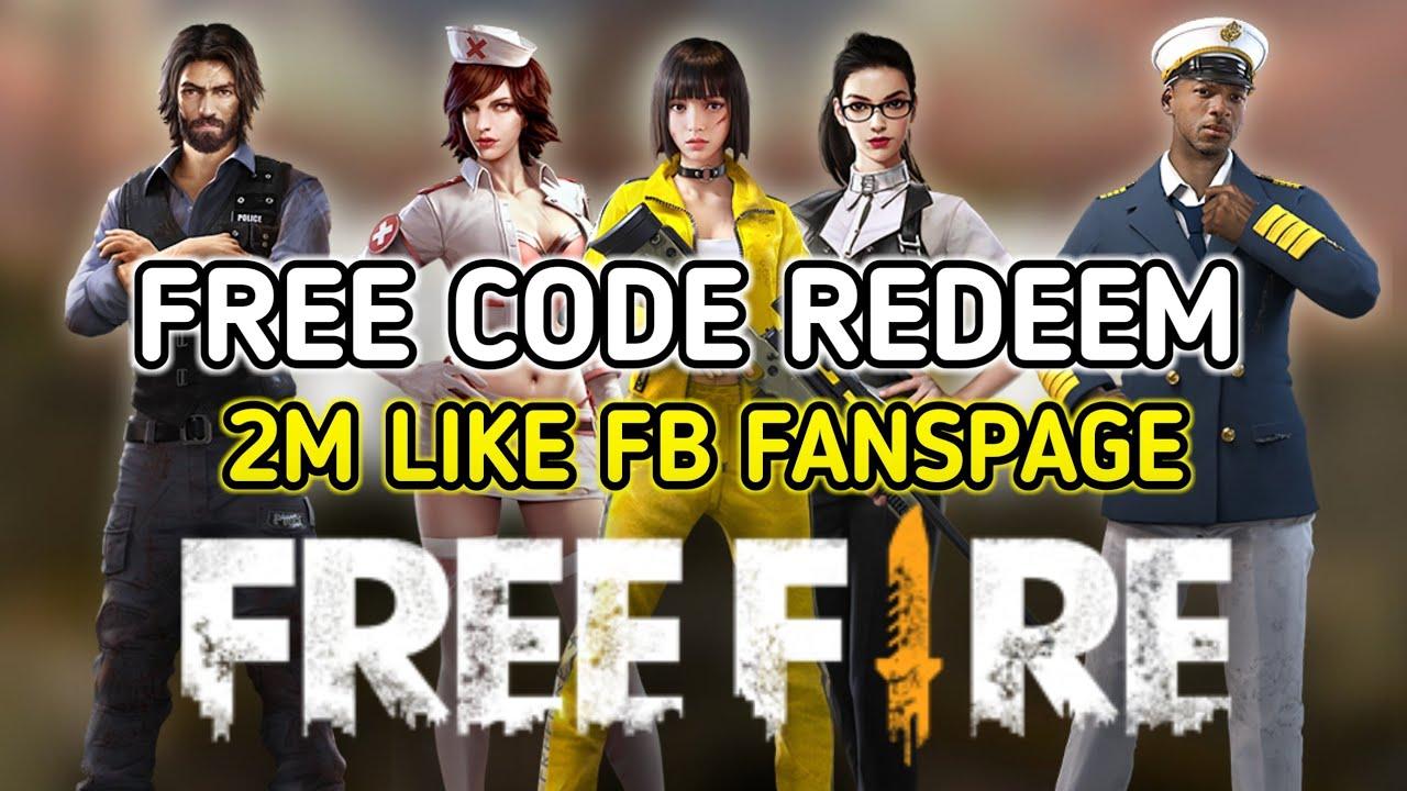 event garena free fire code redeem