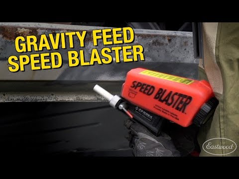 Rust & Paint Removal For Small Areas - Gravity Feed Speed Blaster - Media Blasting at Eastwood