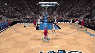 NBA 2K10 - My Player - 1st Game Vs. Magic!