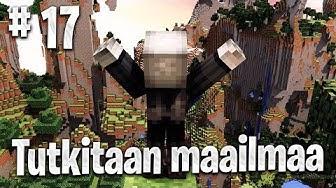 Minecraft Survival: Tutkitaan maailmaa & Rakennetaan taloon katto! #17