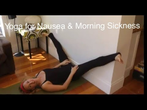 YOGA for MORNING SICKNESS, PMS, NAUSEA & THROWING UP with YogaYin