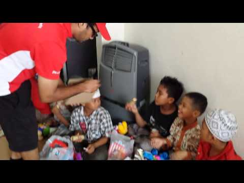Mission 65, Food & Toys to 2 Orphanges in Batam, INDONESIA (