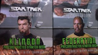 Star Trek TCG Starter Decks!