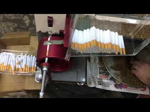 Pars V.3-S Sesiz Otomatik Sigara Sarma Makinası Nemli Tütün Saran Makine 0555 508 7329