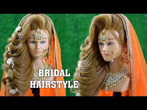 new-latest-bridal-hairstyle-2020-||-front-best-hairstyle-for-bridal-hairstyle-||-indian-hairstyle