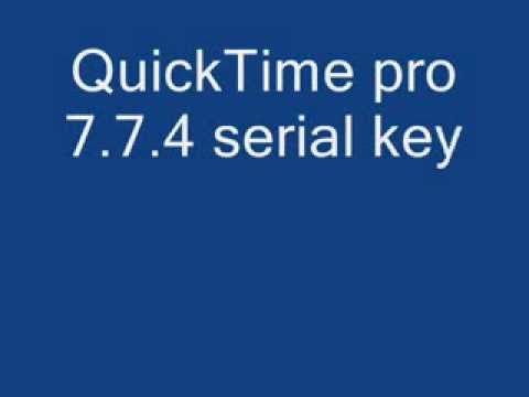 quicktime pro license