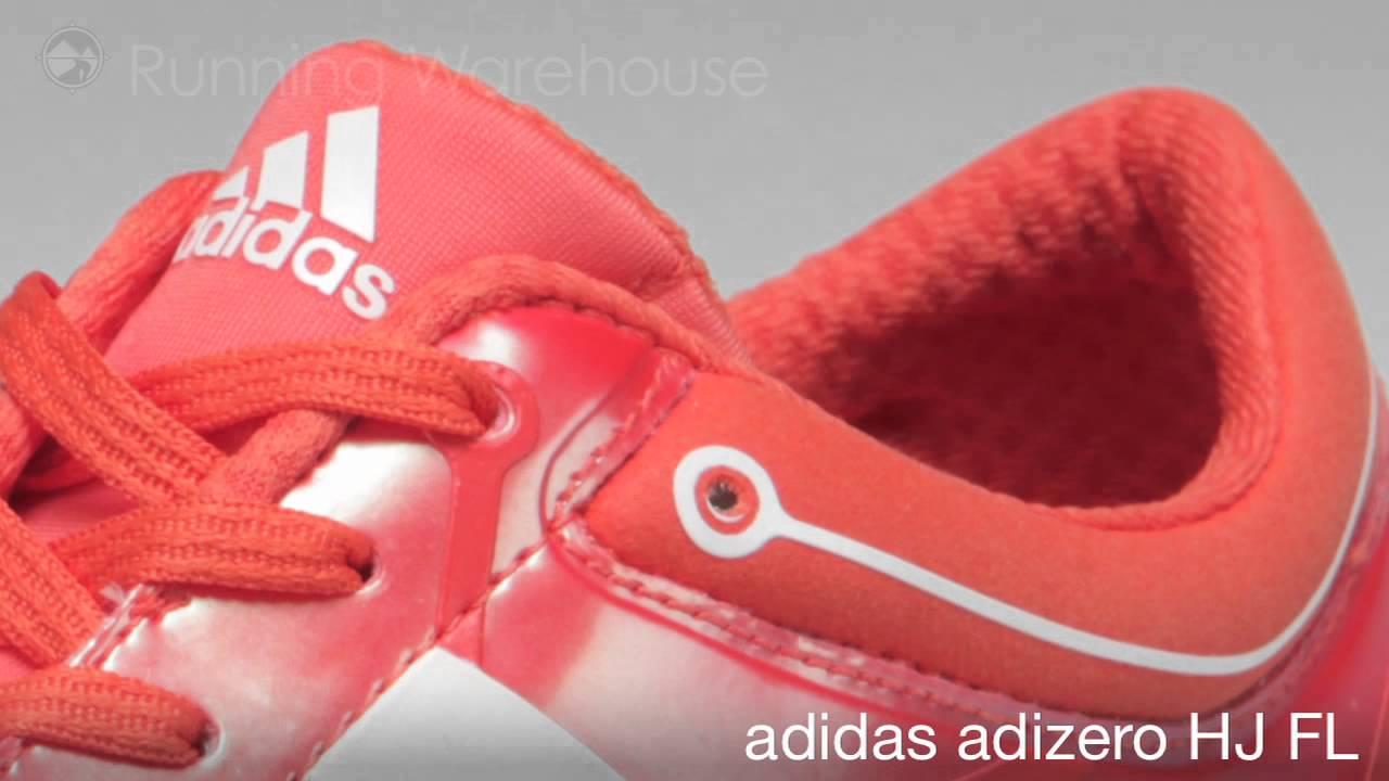 sports shoes 73251 44e2f adidas adiZero HJ FL - YouTube