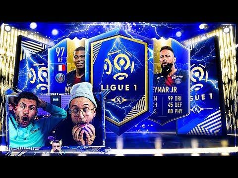 FIFA 19: GARANTIERTES Ligue 1 TOTS PACK + TEAMBAU !!