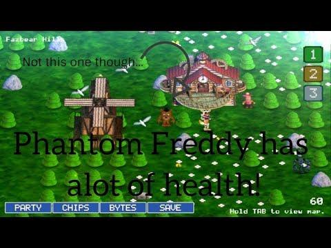 FNaF World #1 | PHANTOM FREDDY HAS ALOT OF HEALTH