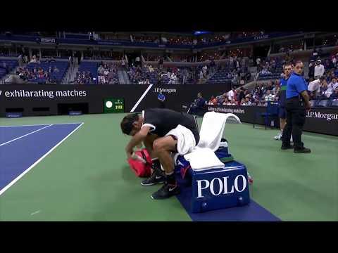 Federer vs Water Bottle