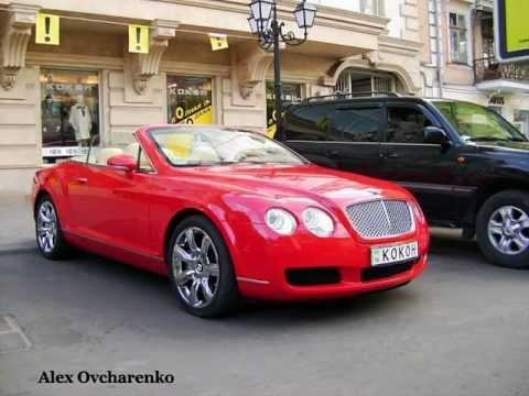Дорогие авто на улицах Одессы / Cars in Odessa