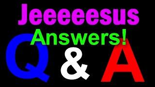 Q&A - Answers!