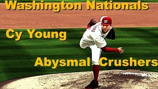 MLB The Show 14 Franchise Nationals Episode 1 Strike Out Frenzy