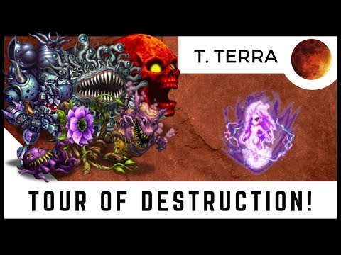Trance Terra Trial Destruction Tour! TAKE NO PRISONERS! | FFBE