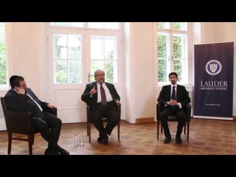 Mr. Boris Mints lectures at Lauder Business School