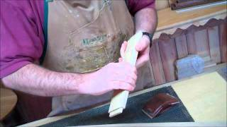 Morris Chair 01 Sanding.wmv