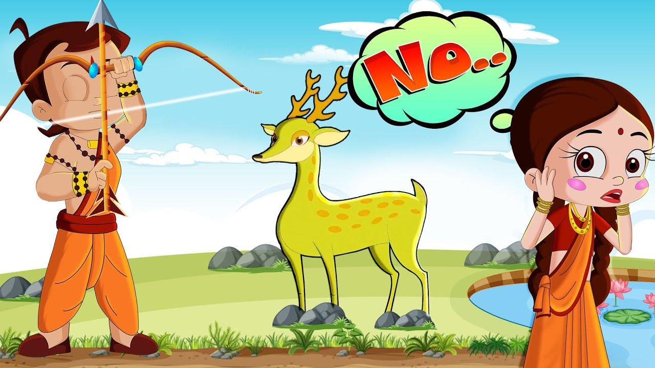 Chhota Bheem - Mayavi Hiran   Story of a Golden Deer   #HappyDussehra
