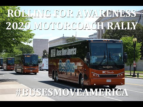Rolling For Awareness - The 2020 Motorcoach Rally, Washington, DC
