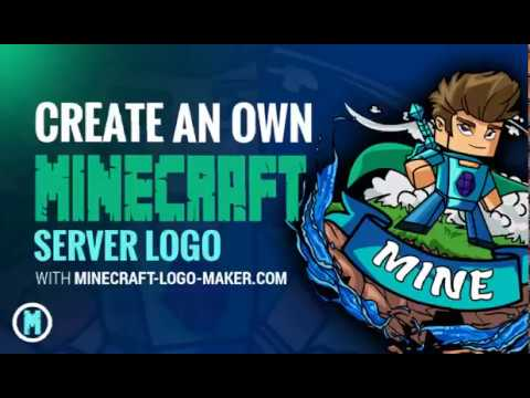 How to creat your own Minecraft Server Logo without Photoshop or Illustrator