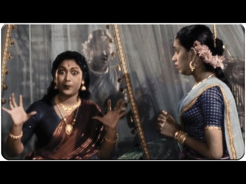 Savitri Hilarious Comedy as Sasirekha || Mayabazar Movie || SVR, NTR, ANR, Savitri