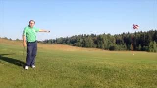 Урок № 4   Чиппинг Теория, выбор клюшки, Брейк, Упражнениегольф