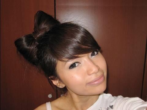 hair bow tutorial hairstyle