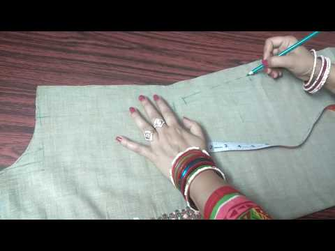 Easy to make side pocket in kurti