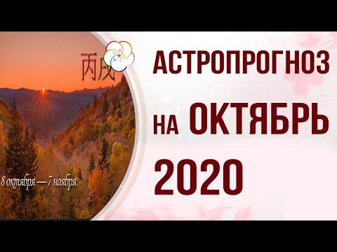 БАЦЗЫ 2020: АСТРОПРОГНОЗ на Октябрь 2020 года. Месяц Огненной Собаки 丙戌