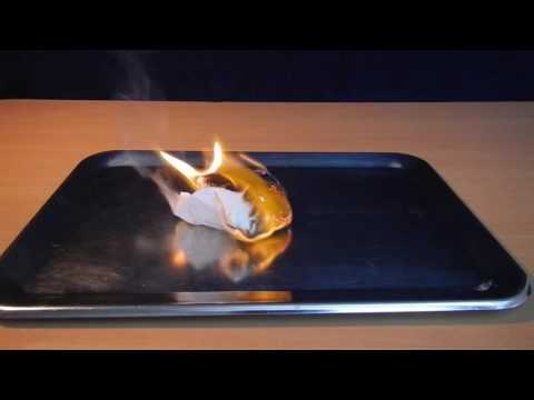 MAKING PAPER OUT OF FIRE