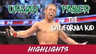 Urijah Faber Highlights (2019) HD     THE CALIFORNIA KID