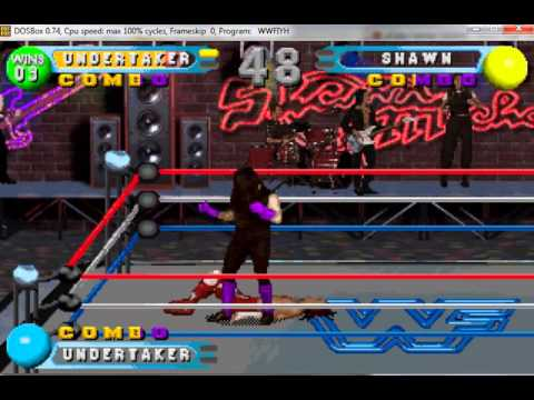 WWF In Your House undertaker all combos gameplay