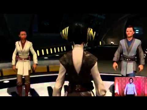 Star Wars Kinect и Юзя   Часть 1   МАКСИМУМ ДЖЕДАЙ