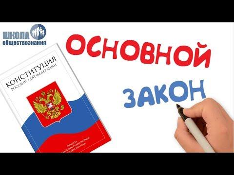 Конституция Российской Федерации 🎓 Обществознание 9 класс