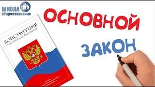 Тема 12. Конституция Российской Федерации 🎓 Школа обществознания 9 класс