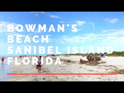 Walk On Bowman's Beach Sanibel Island Florida -  🏖️