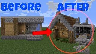 minecraft blacksmith village remodel