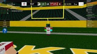 God qb Legendary football roblox highlights/gameplay