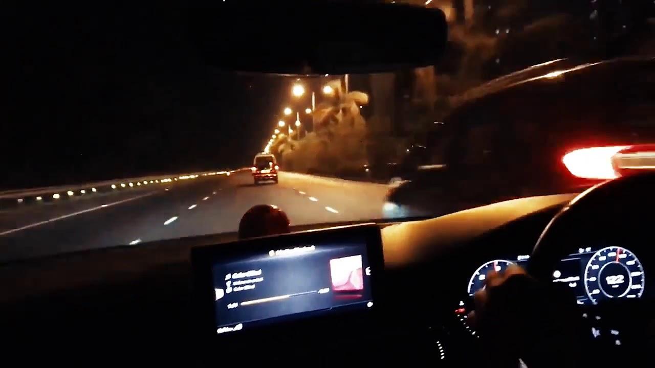 Night Long Drive Whatsapp Status Audi Masti Video
