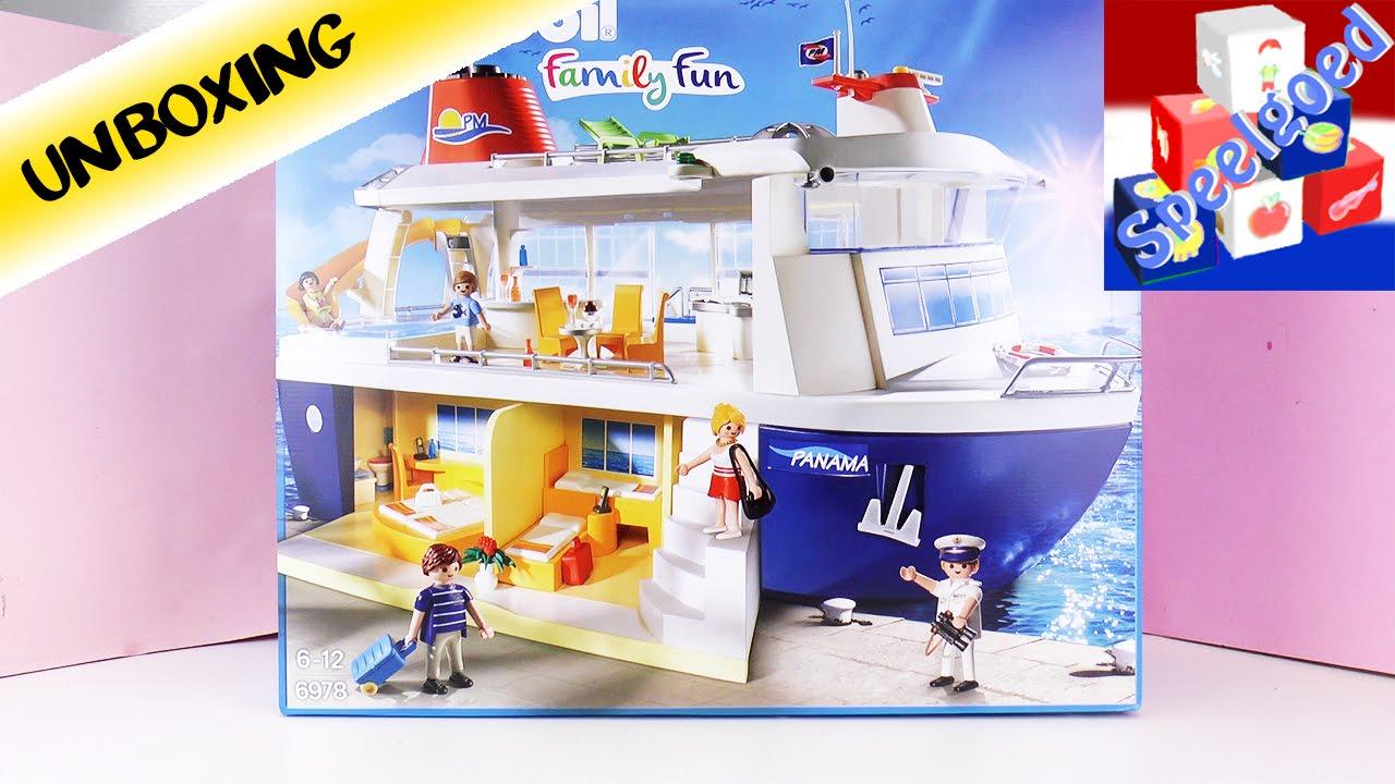 playmobil cruiseschip family fun reusachtig schip met zwembad speel met mij kinderspeelgoed. Black Bedroom Furniture Sets. Home Design Ideas