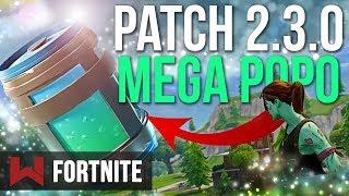 PATCH 2.3.0: NEW SUPER POTION Fortnite Battle Royale
