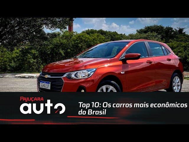 Top 10: Os carros mais econômicos do Brasil