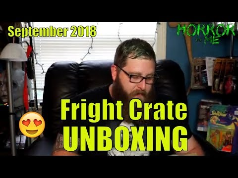 Fright Crate (September 2018) UNBOXING w/ Horror in Me