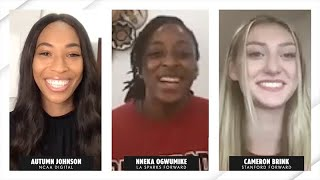 WNBA's Nneka Ogwumike gives Stanford's Cameron Brink surprise advice