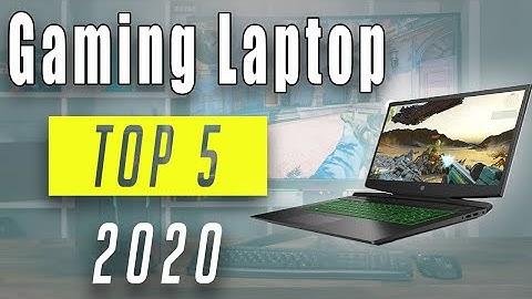 TOP5: Bester GAMING LAPTOP 2020! Günstiges und Bestes Gaming Notebook! [DEUTSCH]