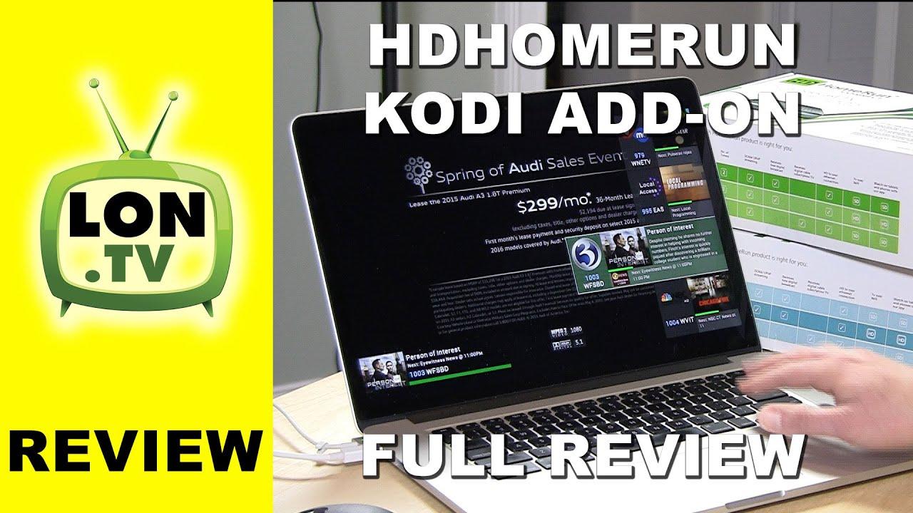 Add-on:HDHomeRun - Official Kodi Wiki